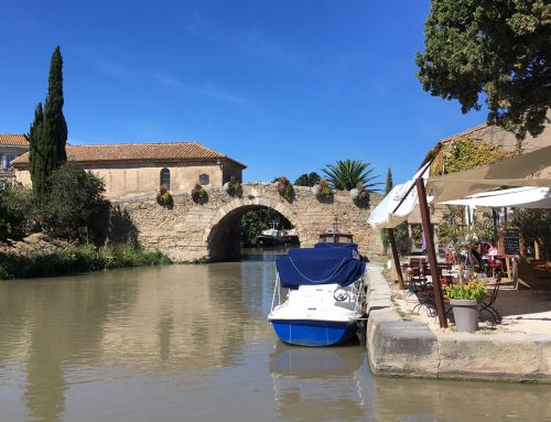 Painting workshops in France – Canal du Midi.