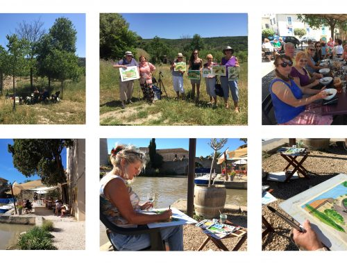 Painting holidays and Workshops in France